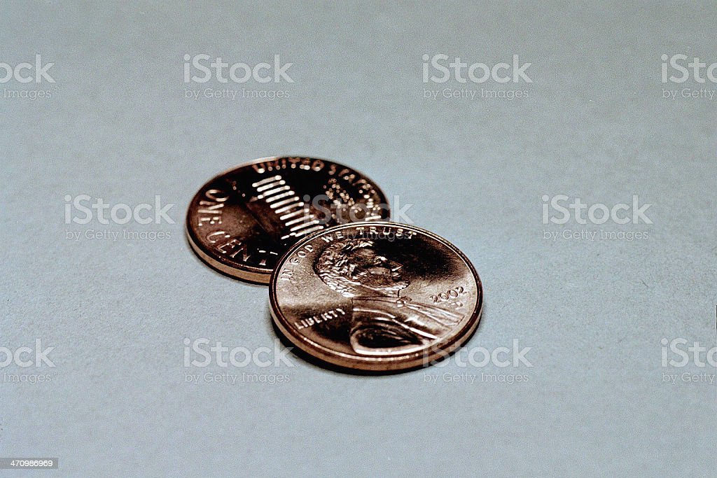 My Two Cents stock photo