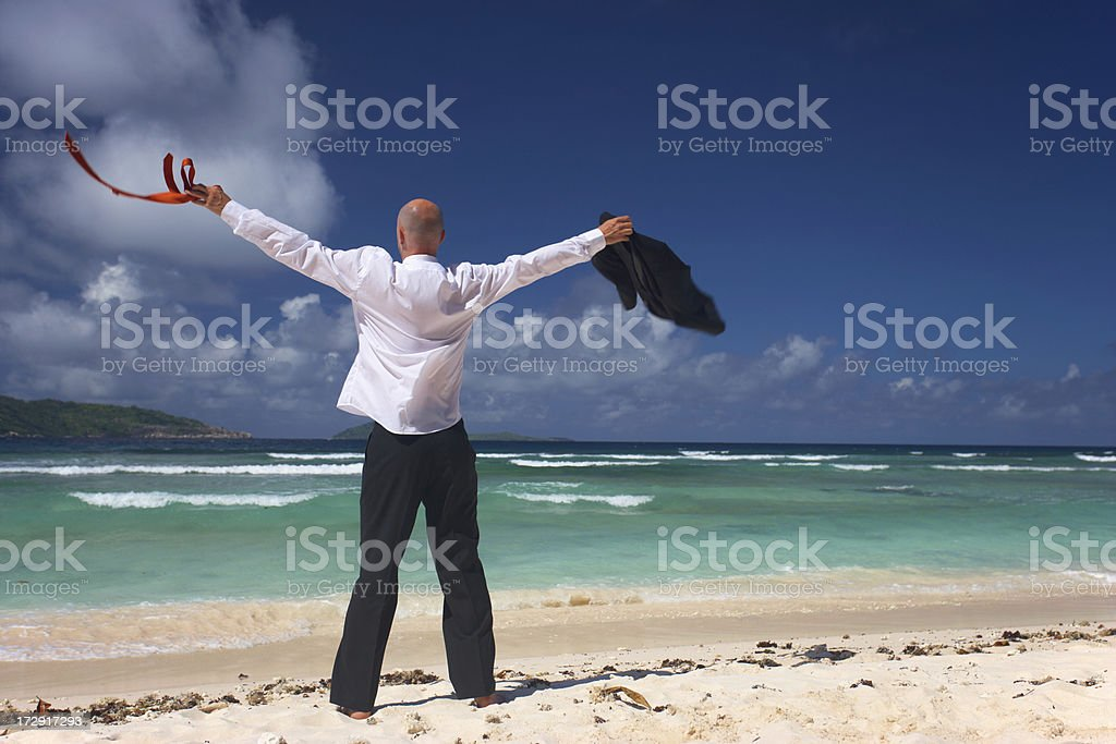 My Vacation Starts Now Stock Photo