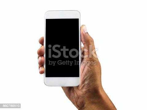 istock my white phone vertical 860786510