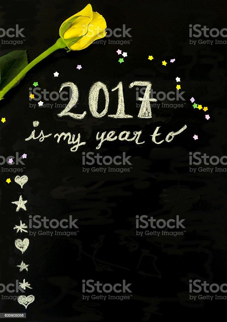 My year to... stock photo