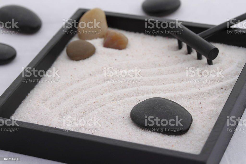 My zen garden stock photo