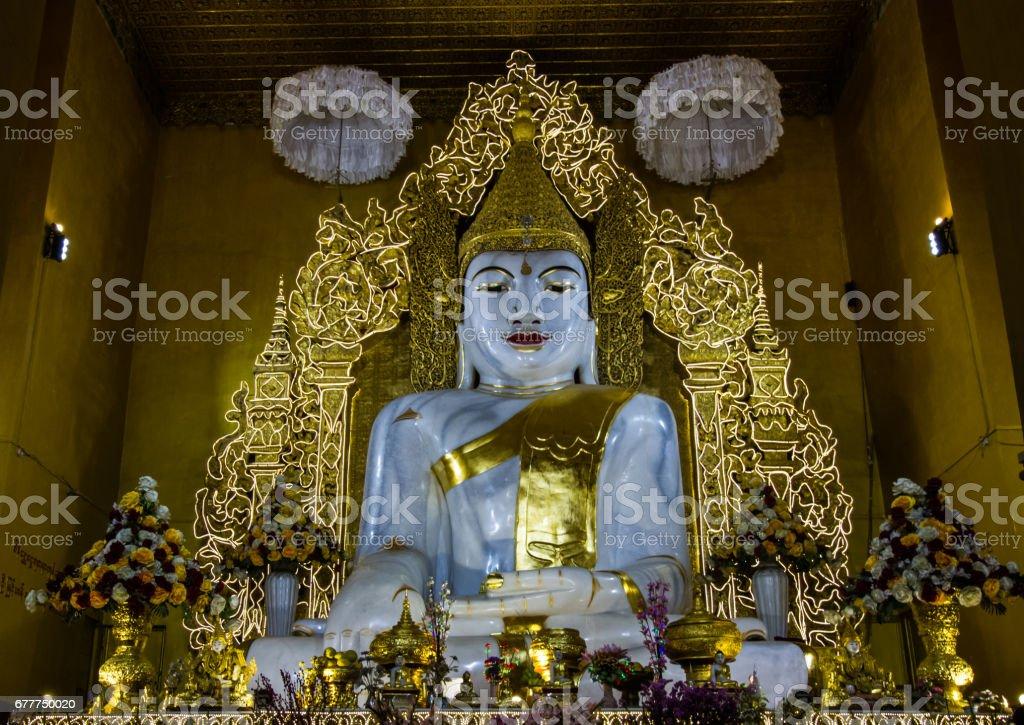 Myanmar buddha image royalty-free stock photo