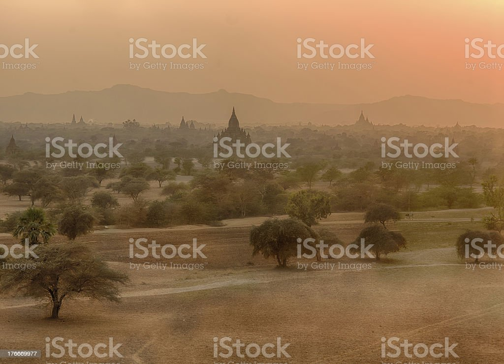 Bagan Myanmar royalty-free stock photo