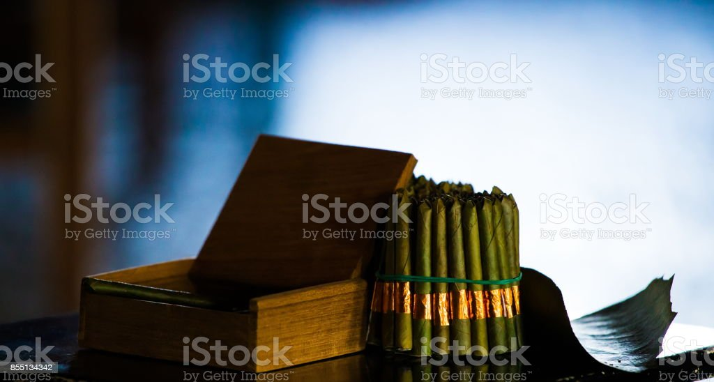 Myanmar Cigars Stock Photo - Download Image Now - iStock