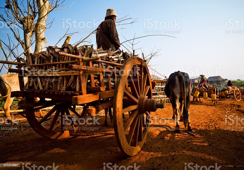 Myanmar Daily Life stock photo