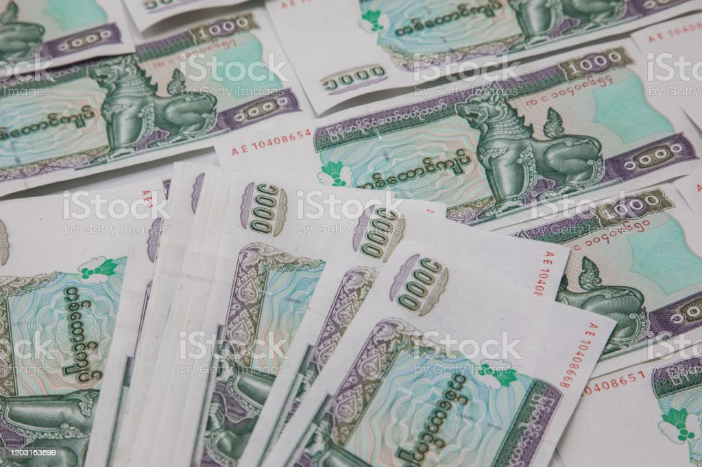 currency official kyat Which asian country is the