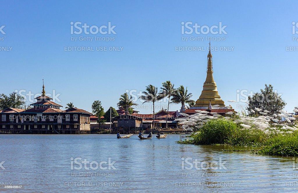 Myanmar royalty-free stock photo