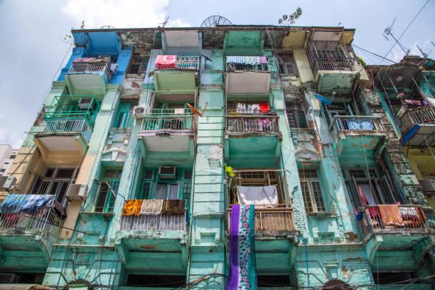 myanmar: yangon - burma home do zdjęcia i obrazy z banku zdjęć