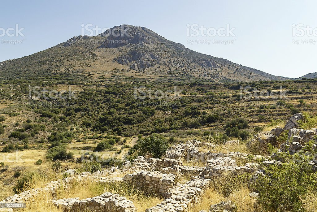 Mycenae, Greece stock photo