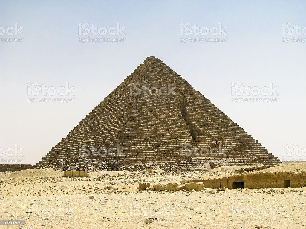 Mycerinus Pyramids stock photo