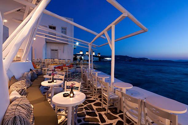 Mykonos, Greece. stock photo