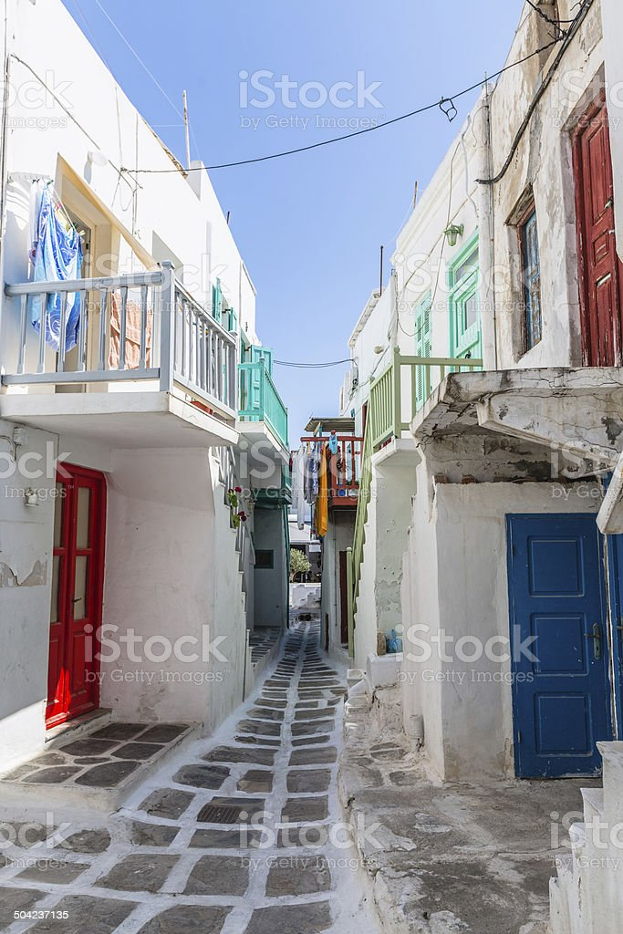 Mykonos Greece royalty-free stock photo