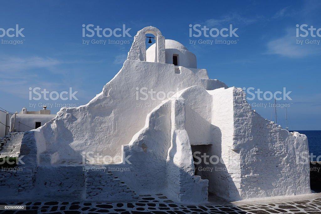 Mykonos Island, 1 of Cyclades Island, Greece stock photo