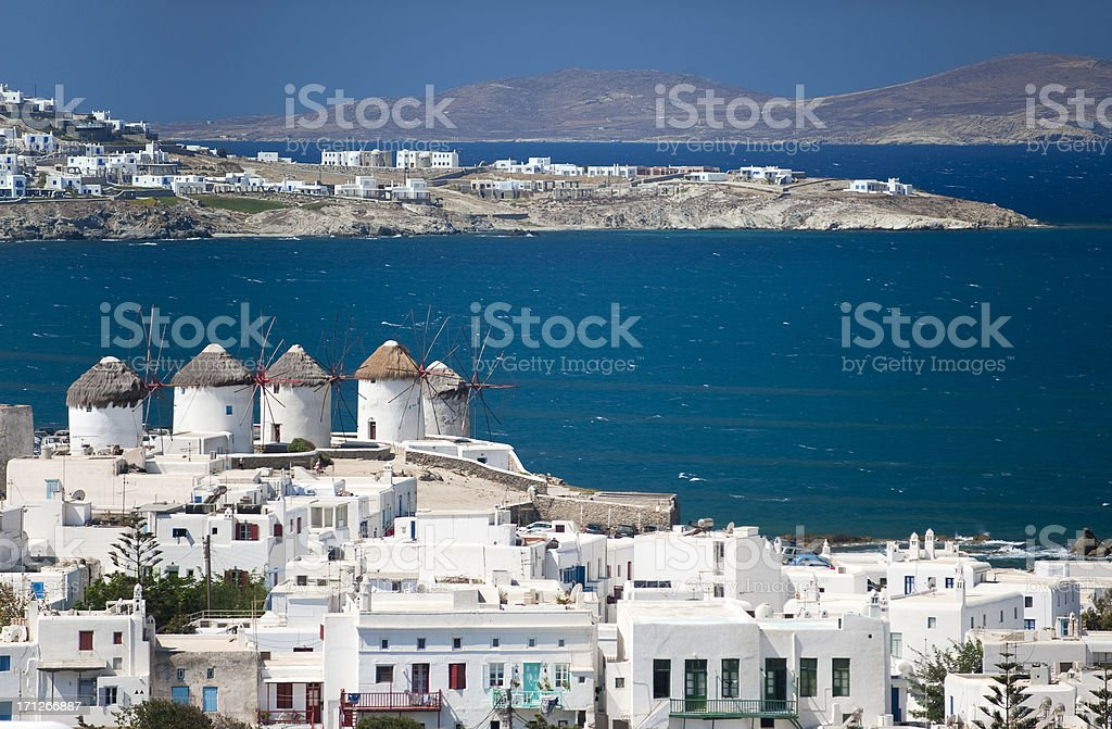 Mykonos royalty-free stock photo