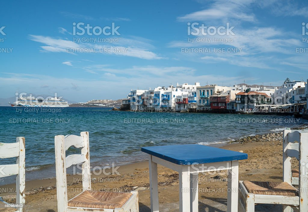 Mykonos stock photo