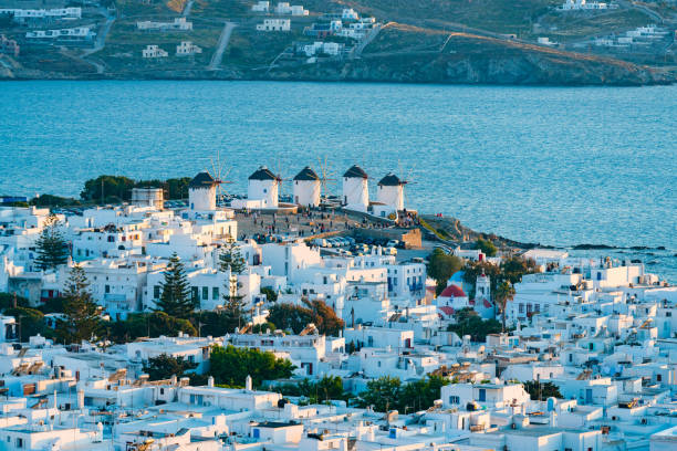 Mykonos Stadt, Mykonos Insel, Griechenland – Foto