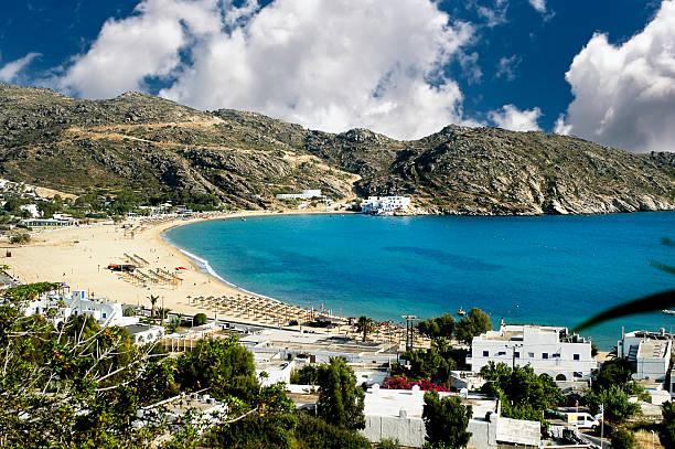 Mylopotas beach, Ios Insel Kykladen, Griechenland – Foto
