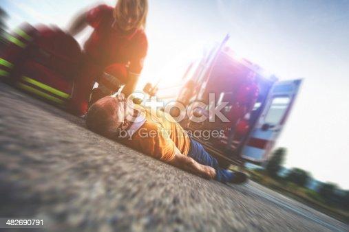 508966965 istock photo Myocardial attack on the street 482690791