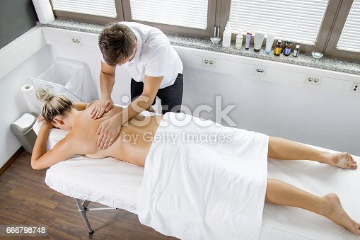 istock Myofascial Release Therapy - Spinal 666798748