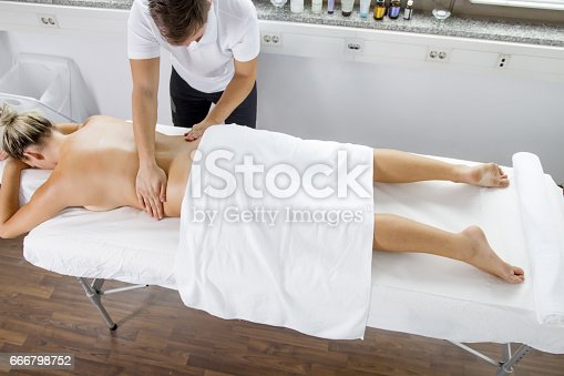 istock Myofascial Release Therapy - Spinal 666798752