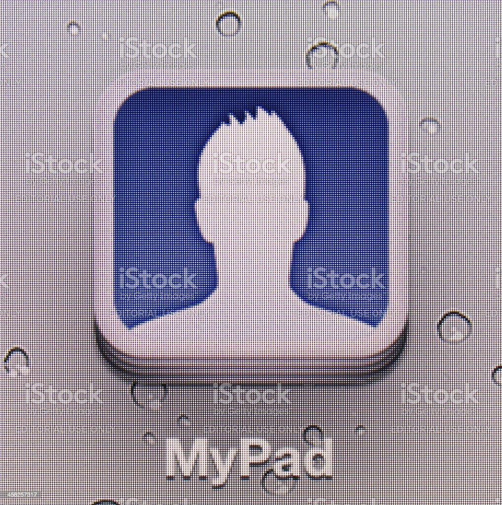MyPad royalty-free stock photo