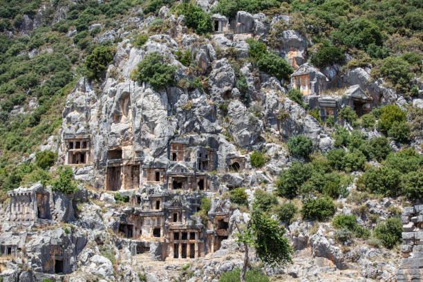 Myra Ancient City in Antalya stock photo