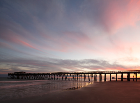 Myrtle Beach State Park Pier Stock Photo - Download Image ...