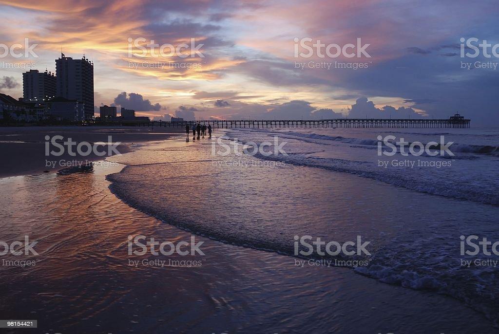 Myrtle Beach Sunrise royalty-free stock photo