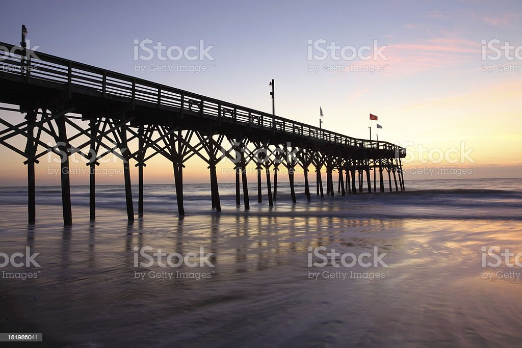 Myrtle Beach's Pier 14 royalty-free stock photo