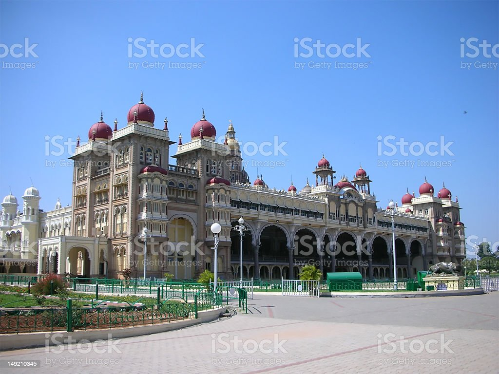 Mysore Palace royalty-free stock photo