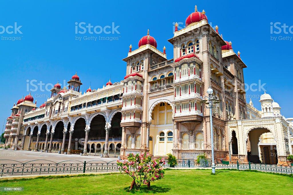 Mysore palace stock photo
