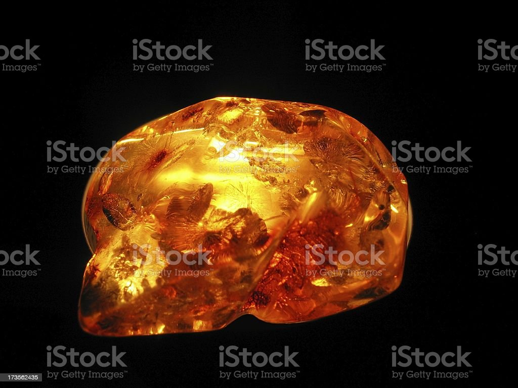 Mysterious Amber stock photo