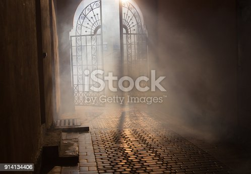 istock mysterious arch 914134406