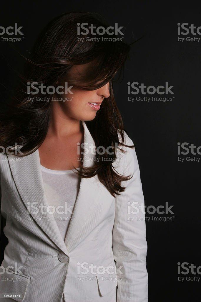 Mysterious beauty royalty-free stock photo