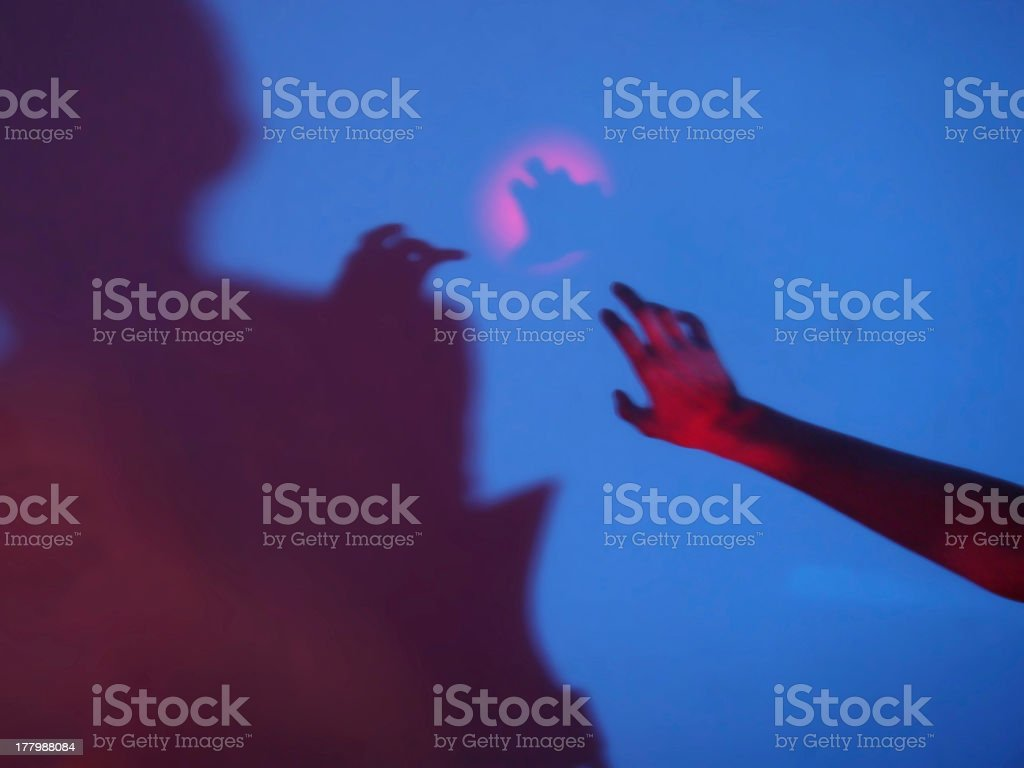 mysterious contacts royalty-free stock photo