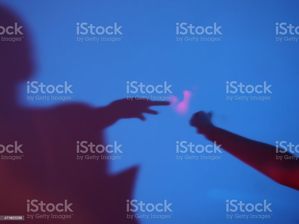 c6caf717 Mysterious Contacts Stock Photo & More Pictures of Abstract - iStock