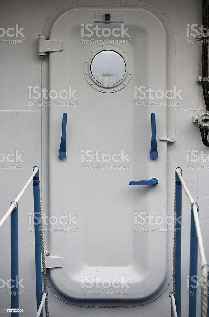 Mysterious door. stock photo