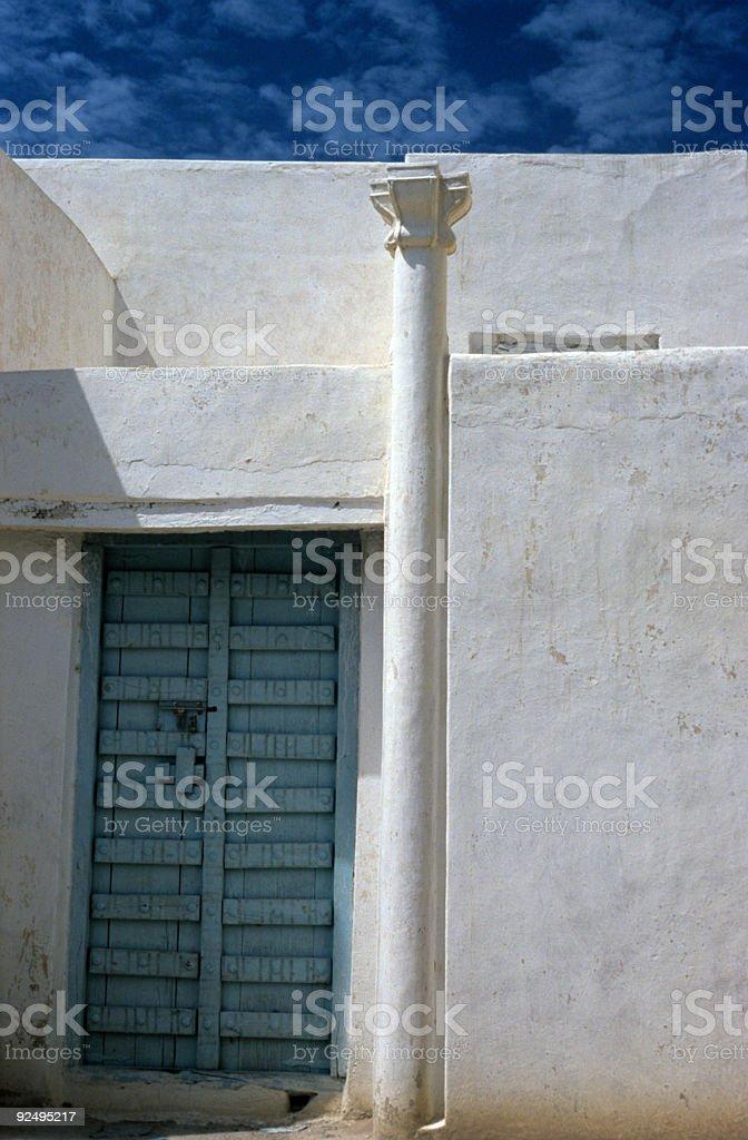 Geheimnisvolle Tür Lizenzfreies stock-foto