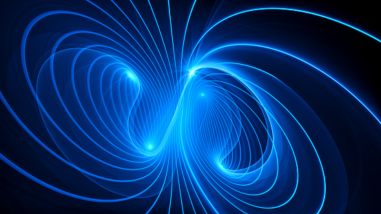 Mysterious electromagnetic field background
