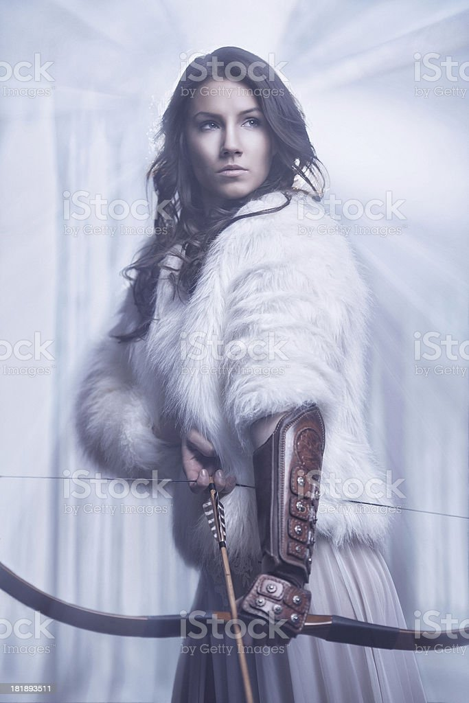 Ange Archer mysterious female archer stock photo & more pictures of adult | istock