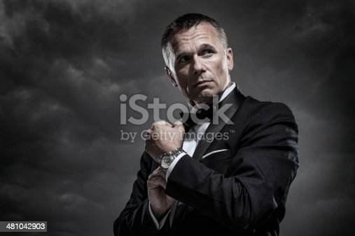 istock Mysterious Man in Tuxedo 481042903
