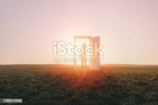 istock Mysterious meadow passage 1299310355
