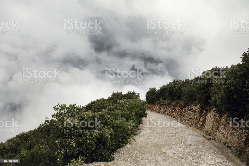 Mysterious Path to the Sky royalty-free stock photo
