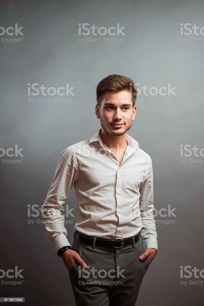 mysterious person stock photo
