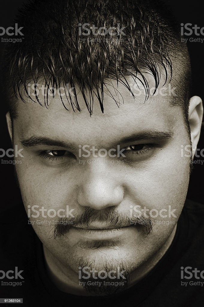 Mysterious stock photo