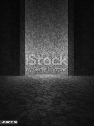 istock Mysterious place. Front view 481633126