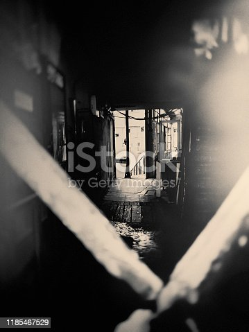 dark, rough, entrance, architecture, vintage, staircase,