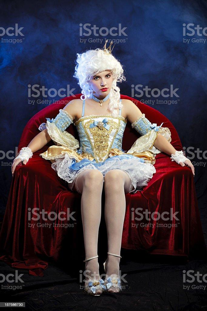 Mysterious Princess portrait royalty-free stock photo