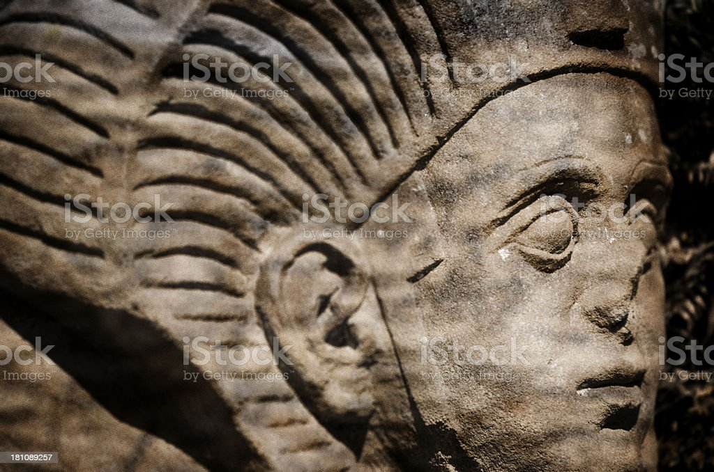 Mysterious Statue royalty-free stock photo
