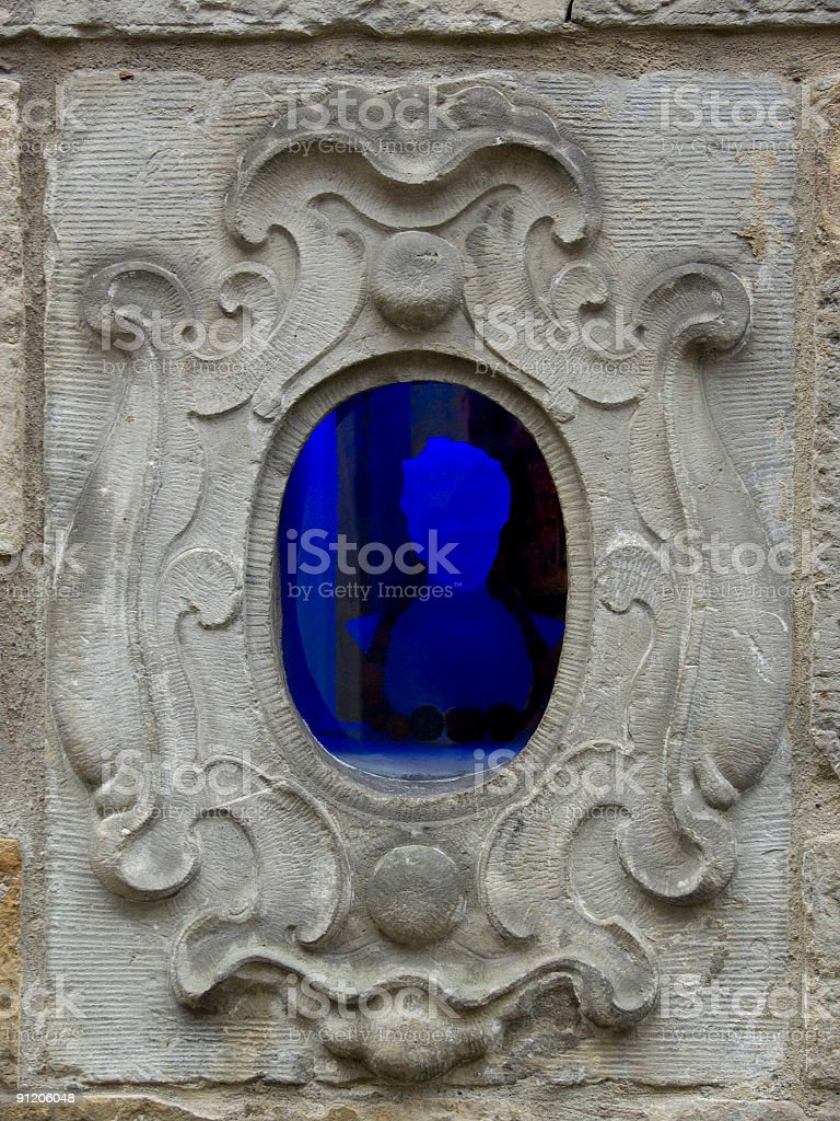 Mysterious Window royalty-free stock photo